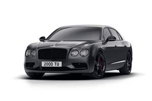 New special edition Bentley
