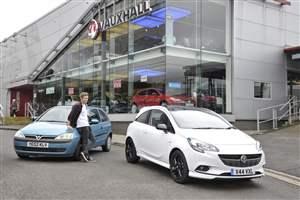 Vauxhall scrappage milestone