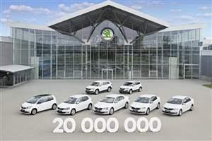 Skoda passes 20 million mark