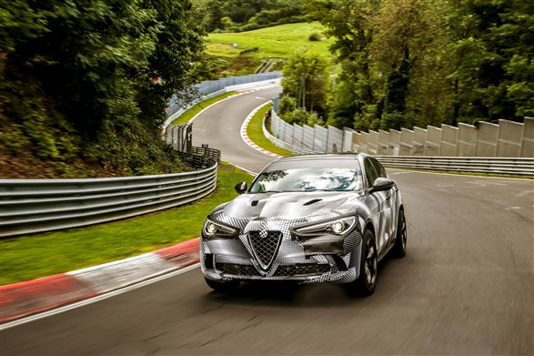 Stelvio king of the SUV ring